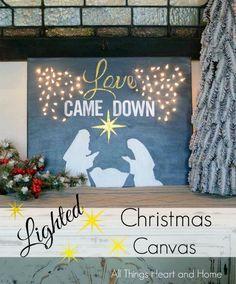 Lighted Christmas Ca