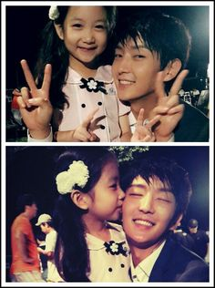 10 fun facts celebrating Lee Joon Ki's birthday: 4. He and Park Ha Sun battled for their fake daughter's affection.
