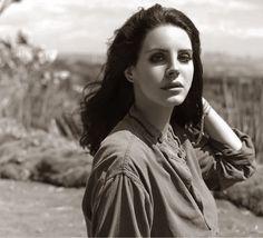 Lana Del Rey photographed by Mathieu Cesar for Next Libération, 2014