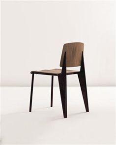 Chair, model no.4, Manufactured by Les Ateliers Jean Prouvé, France., c.1935