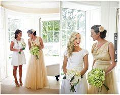 David Fielden champagne/gold wedding dress   CHECK OUT MORE IDEAS AT WEDDINGPINS.NET   #weddings #weddingdress #inspirational