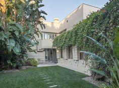 Henry Bollman Residence. 1923. Los Angeles, California. Lloyd Wright
