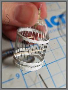 DIY miniature birdcage