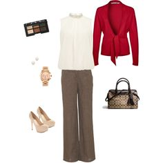 """""""Fall work attire"""" by maria-litten on Polyvore"""