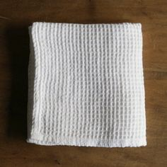 shop fog linen — Linen Waffle Towels: White
