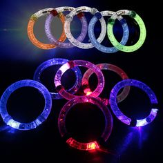luminous toys/Colorful flash tube / acrylic bracelet/colorful flash/pouring light/bar props/crystal ball/baby toys for children