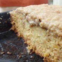 "Cake Cajun Cake - ""This cake was born on the bayou. It has a caramel pecan sauce that soaks into the cake.""Cajun Cake - ""This cake was born on the bayou. It has a caramel pecan sauce that soaks into the cake. Cajun Desserts, Just Desserts, Delicious Desserts, Dessert Recipes, Frosting Recipes, Breakfast Recipes, Creole Recipes, Cajun Recipes, Cooking Recipes"
