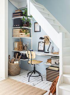 Ikea oplossingen voor onder de trap.