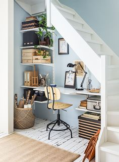 From ikea.com. Great way to make use of a small space.