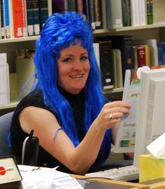 Andrea's Feelin' Blue | by Dr. Starr, geeky artist librarian