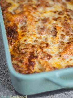 Easy Meat Lasagna Recipe