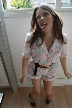 diy dress to romper