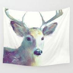 Whitetail No. 2 Wall Tapestry