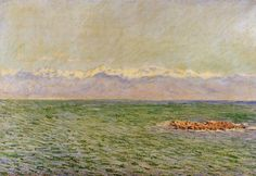 C. Monet: The Sea and the Alps