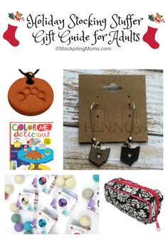 Holiday Stocking Stuffer Gift Guide for Adults
