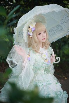 lolita avec ombrelle