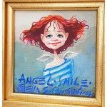 Angel Smile - Giclee Angelus - slike anđela Disney Characters, Fictional Characters, Angels, Smile, Disney Princess, Art, Craft Art, Kunst, Gcse Art