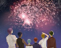 Generation of Miracles Generation Of Miracles, Kuroko No Basket, Anime, Painting, Art, Art Background, Painting Art, Kunst, Cartoon Movies