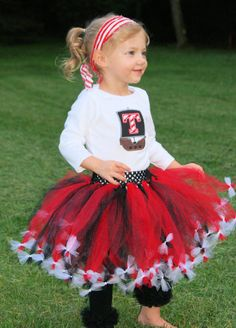 Pirate tutu with legwarmers  Pirate Dress Girls by SewsnBows, $54.00
