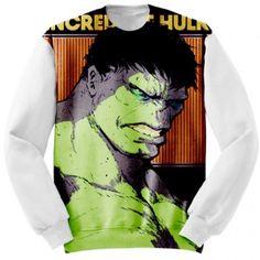 Sweatshirt Marvel Hulk Apparel #Clothing #hulk #incredible #marvel #comics #avengers #apparels #apparel #sweatshirt