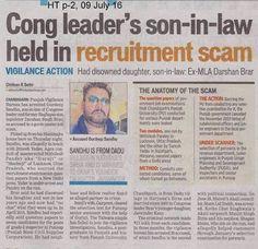 Congress leader de jawai ne ohda naam hor chamka ditta .... #Recruitment #Scam #Congress Scam Party