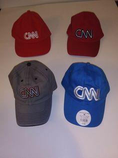 4 New CNN Cable News Network Atlanta Baseball Cap Hat Adjustable Cotton   fashion  clothing a2a2965c8ec0