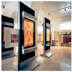 cases - Historic Textile Museum Prato Italy