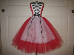 Little Red Riding Hood inspired Monkey Tutu dress by MonkeyTutus, $37.00