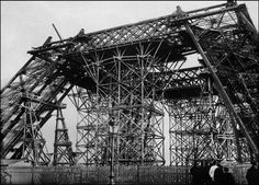 Las Increíbles E Insólitas Fotos De La Construcción De La Torre Eiffel