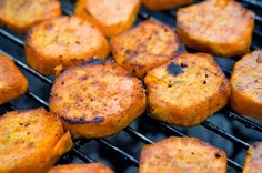 Recipe | 7 GRILLED Sweet Potato Salads ~ Grilling season is here! And classic potato salad (with pickles) is my favorite accompaniment to just about everything. However, I do like to offer my family a healthier alternative, especially on fat-and-sugar-laden holidays like Memorial Day and the Fourth of July.