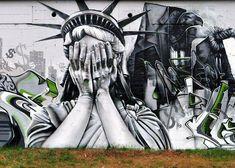 Street art photo - nok crew ,Mato (otam),Sinke ,Kalees,Onsept,Hyboo by cljosse,