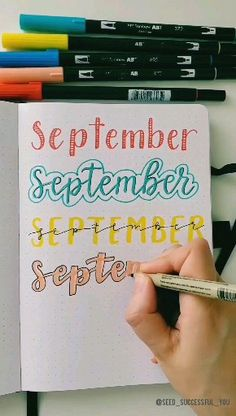 Need some bullet journal header ideas for beginners? This post is FOR YOU! The Doodle Art Beginners Bullet doodle art for beginners Header ideas Journal Post Bullet Journal Lettering, Bullet Journal Writing, Bullet Journal Headers, Journal Fonts, Bullet Journal Notebook, Bullet Journal 2019, Bullet Journal Ideas Pages, Bullet Journal Inspiration, Bullet Journal Ideas Handwriting