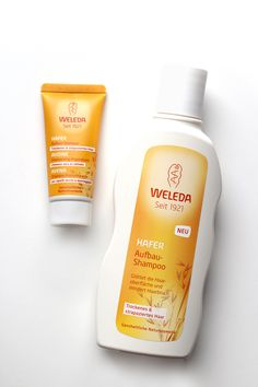 Oat Replenishing Shampoo by Weleda - view the whole product test on www.miss-annie.de #naturalcosmetics #beauty #beautyblogger #producttesting #newin #blogger
