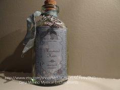 Mermaid Hair in a bottle with Mermaid by MYSTICALLYENCHANTING, $10.50