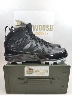 Nike jordan ix retro mcs aa1264-011 baseball cleats derek jeter re2pect sz  11 5c8a5e75e