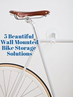 5 Low Profile Wall Mounted Bicycle Storage Solutions
