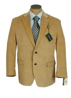 Ralph Lauren Mens Tan Corduroy Sport Coat Jacket « Clothing Impulse