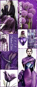 """""""Ultra-Violet"""" Color Collage"""