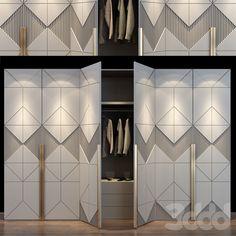 Master Bedroom Wardrobe Designs, Wall Wardrobe Design, Wardrobe Door Designs, Wardrobe Room, Cabinet Door Designs, Bedroom Cupboard Designs, Luxury Bedroom Design, Bedroom Furniture Design, Almirah Designs
