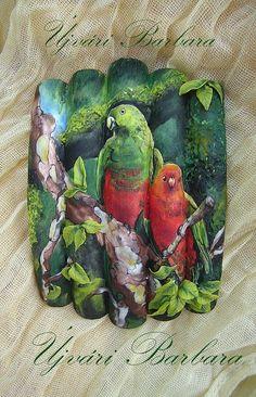 Parrot #nail #nails #nailart