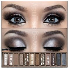 NAKED palette how to