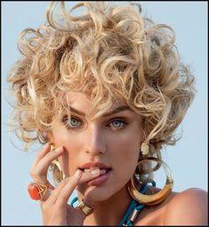 Neueste kurze Haarschnitte für Frauen: Gelockte, gewellte, glatte ... | Einfache Frisuren