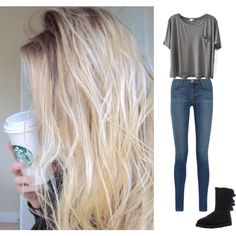 """""""White girl"""" by katialeaheart on Polyvore"""
