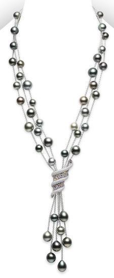 Mikimoto lindas perlas