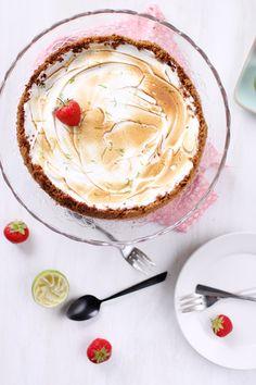 Key lime pie aux fraises