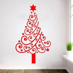 Christmas Tree Sticker Wall Photo Album - Home Design Ideas