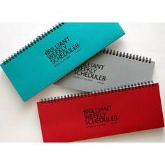 Paperian Brilliant weekly desk scheduler memo note - fallindesign