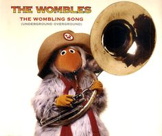 """For Sale - The Wombles The Wombling Song UK  CD single (CD5 / 5"""") - See this and 250,000 other rare & vintage vinyl records, singles, LPs & CDs at http://991.com"""
