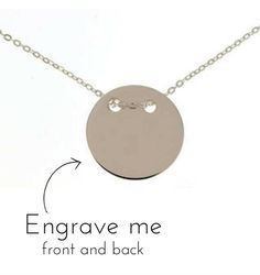 Silver Necklace 'Eternity' for Mum
