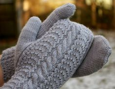 warm woolen mittens-- many hand knit by my Gramma.